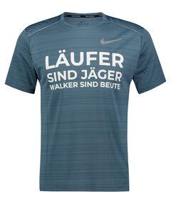 """Herren Laufshirt """"Läufer sind Jäger"""" Kurzarm"""