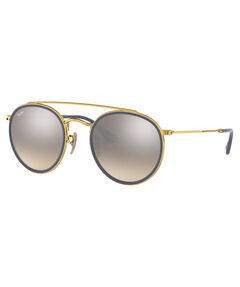 "Damen Sonnenbrille ""Round Double Bridge"""