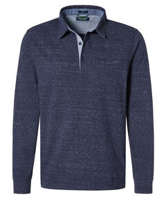 Herren Poloshirt Modern Fit Langarm