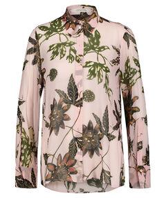 "Damen Bluse ""Floral Transparencies"" Langarm"