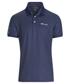 Herren Golf-Poloshirt Custom Slim Fit Kurzarm