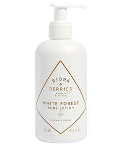 "entspr. 130 Euro/ 1.000ml - Inhalt: 250ml Body Lotion ""White Forest"""
