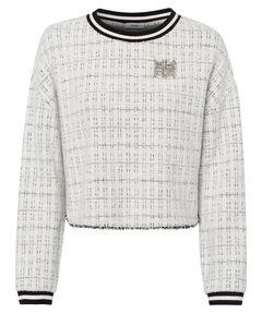 Damen Sweatshirt mit Brosche
