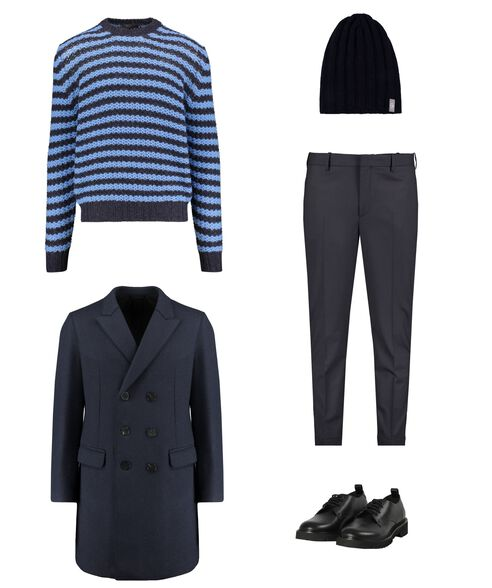 Outfit - Blue Iceland