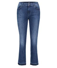 "Damen Jeans ""Cropped Boot Unrolled Slim Illusion Integrity"" Slim Fit verkürzt"