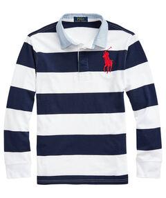 Jungen Poloshirt Langarm