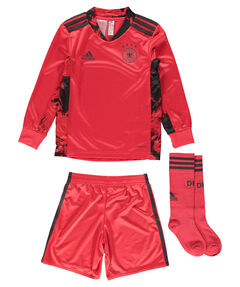 "Kleinkinder Torwartausrüstung Trikot + Shorts ""2021 Germany Home Goalkeeper Minikit"""