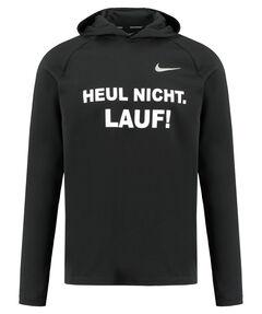 """Herren Laufshirt """"läuft"""" Langarm"""