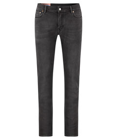 "Herren Jeans ""North Used Blk"" Slim Fit"