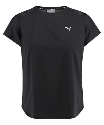 Puma - Damen Trainingsshirt Kurzarm