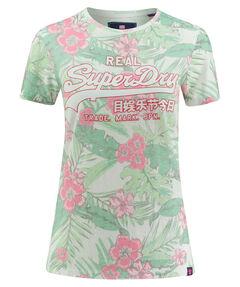 "Damen T-Shirt ""Vintage Logo Tropical AOP Entry Tee"""