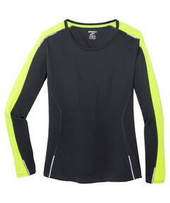 "Damen Running Shirt Langarm ""Nightlife"""