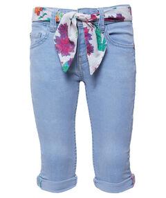 Mächen Kleinkind Capri-Jeans Slim Fit