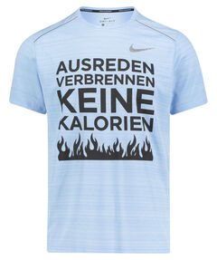 """Herren Laufshirt """"Ausreden verbrennen keine Kalorien"""""""