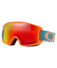 "Kinder Ski- und Snowboardbrille ""Line Miner Youth Prizmatic Org Sea"""