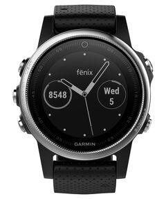 """GPS-Multifunktionsuhr """"fenix 5S"""" silber/schwarz"""