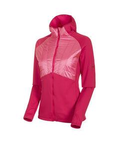 "Damen Fleecejacke ""Aconcagua Light Hybrid ML Hooded Jacket"""