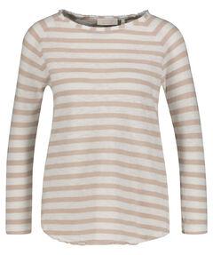 """Damen Shirt """"Heavy Jersey Longsleeve Striped"""" Langarm"""