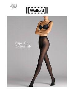 """Damen Strumpfhose """"Superfine Cotton Rib Tight"""""""