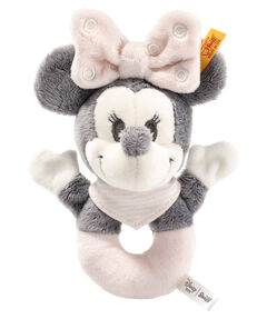 "Baby Greifring mit Rassel ""Minnie Mouse"""