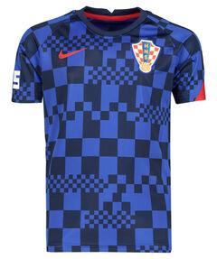 "Kinder Fußballshirt ""Kroatien Prematch"" Kurzarm"