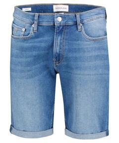 Herren Jeansshorts Slim Fit