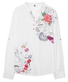 Mädchen Hemdbluse Langarm