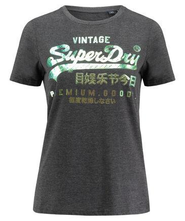 """Superdry - Damen T-Shirt """"Premium Goods Puff Foil Infill Entry Tee"""""""