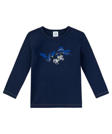 Sanetta - Jungen Unterhemd Langarm
