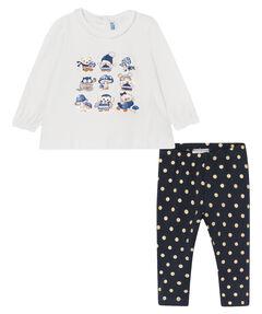 """Mädchen Baby Set Shirt und Leggings """"Uhu"""""""