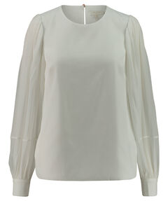 Damen Bluse Relaxed Fit Langarm