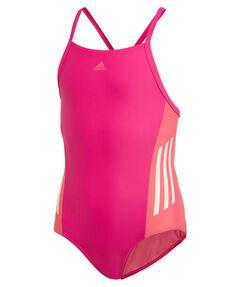 "Mädchen Badeanzug ""Fitness Training Suit Colorblock 3 Stripes"""