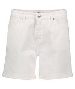 "Damen Jeansshorts ""Boy Shorts Pure White"""