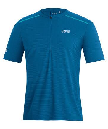 "GORE® Wear - Herren Laufshirt ""Contest Zip Shirt"" Slim Fit"
