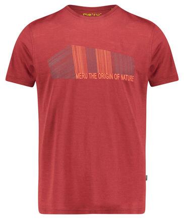 """meru - Herren T-Shirt """"Tumba"""" Kurzarm"""