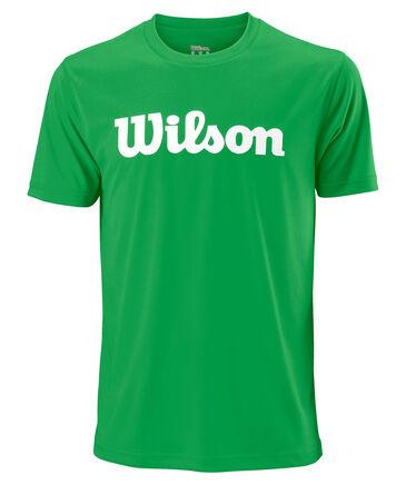 """Wilson - Herren Tennisshirt """"UWII Script Tech Tee"""" Kurzarm"""