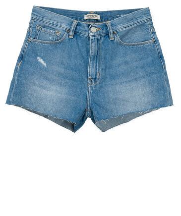 """Carhartt WIP - Damen Jeansshorts """"Pitt Short"""" Relaxed Fit"""