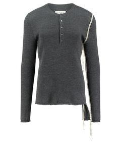 """Herren Strickpullover """"Henley knit"""""""