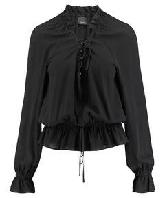 Damen Bluse Comfort Fit Langarm