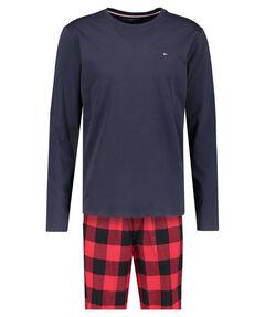 Herren Pyjama zweiteilig