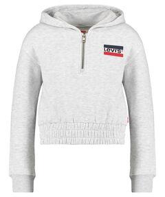 """Mädchen Sweatshirt mit Kapuze """"Quarter Zip Hoodie"""""""