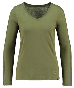 "Damen Shirt ""WLS Edge V-Neck"" Langarm"