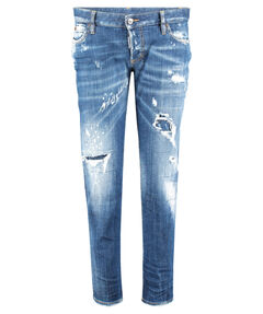 "Damen Jeans ""Jennifer"" Slim Fit cropped"