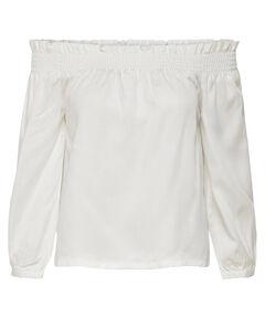Damen Off-Shoulder-Bluse 3/4-Arm