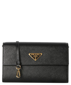 "Damen Clutch ""Saffiano Wallet On A Chain"""