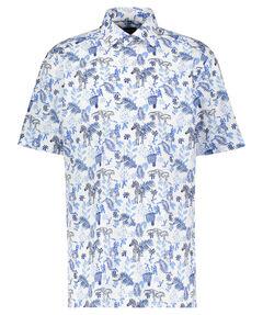 Herren Freizeithemd Modern Fit Kurzarm