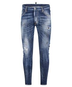 "Herren Jeans ""Tidy Biker Distressed Washed"" Biker Fit"