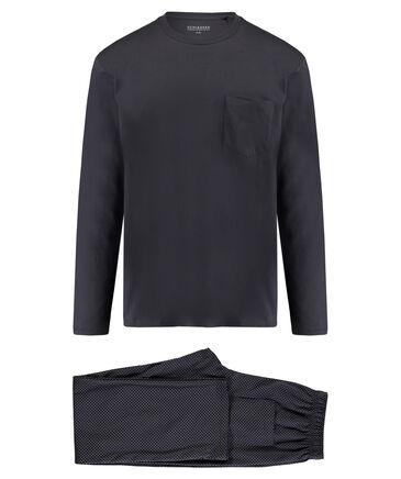 Schiesser - Herren Schlafanzug Langarm