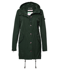 Damen Mantel mit Kapuze