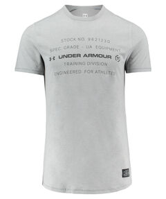"Herren Trainingsshirt ""UA Sportstyle Tri-Blend Graphic"" Kurzarm"